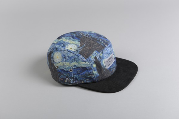 The starry night 5-panel
