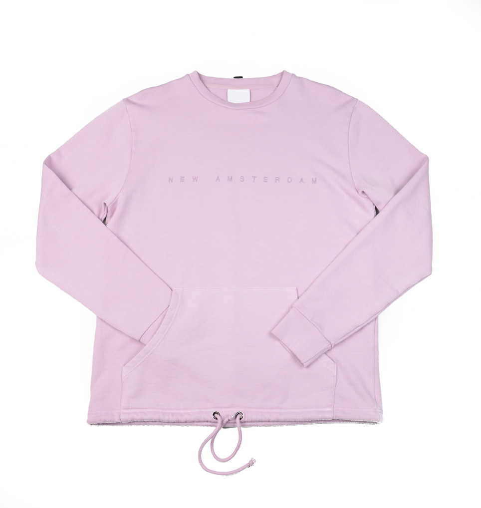 NEW AMSTERDAM LILAC SWEATER