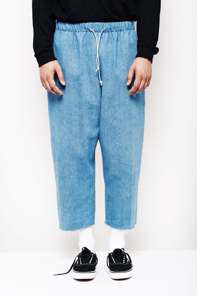 KOOK TROUSER CROPPED DENIM